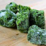 El contenido en vitaminas de vegetales congelados es comparable a los frescos
