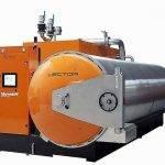 La gama de autoclaves Vector para la esterilización de alimentos es de Marrodán