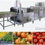 Higienización de frutas y verduras
