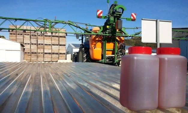 Procesamiento de efluentes fitosanitarios mediante una combinación de bacterias fotosintéticas