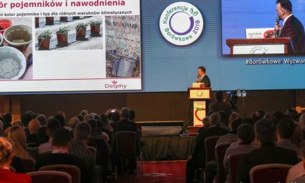 La conferencia de arándanos 2018 de Polonia