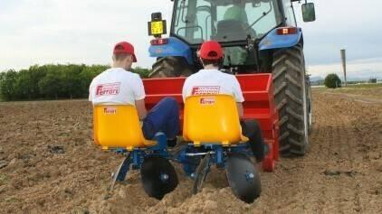 FPM, plantadora de patatas de Ferrari