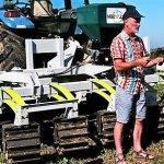 Apero para destruir cultivos de cobertera y romper terrones, afinando el suelo