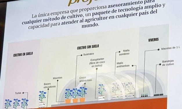 Projar presenta soluciones hidropónicas para frutos rojos
