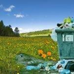 Mantener limpio el campo y reciclar los residuos
