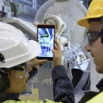 Augmented reality and 5G technology in mill maintenance to replace fossil-based materials
