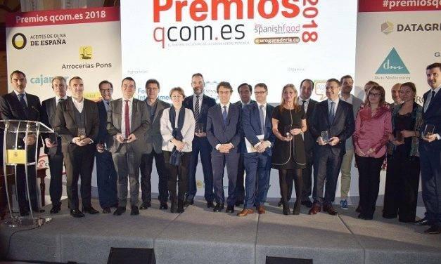 Cajamar premiada por su apuesta decidida y continuada por el sector agroalimentario