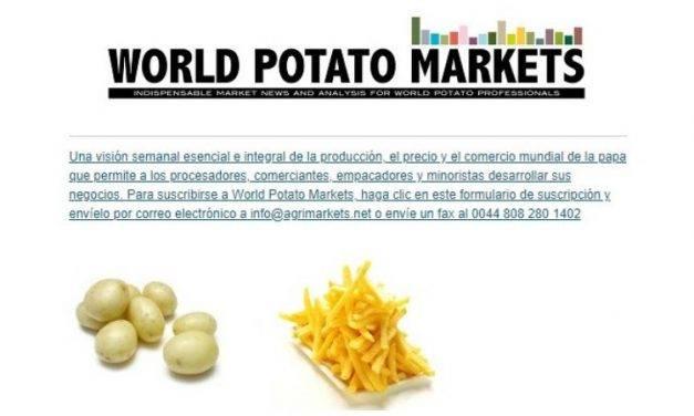 World Potato Markets , informes de frecuencia semanal