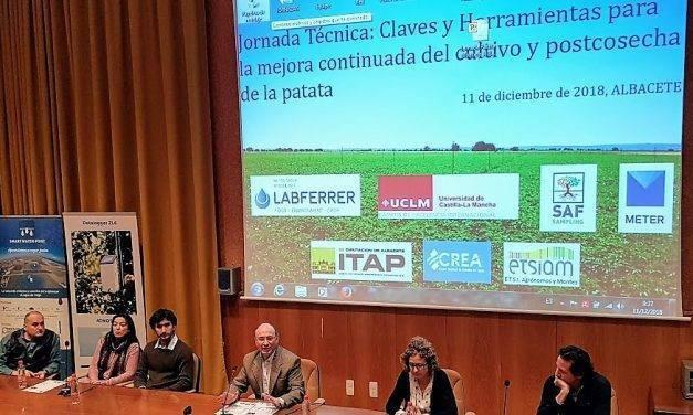 Información de primera mano sobre los problemas de campo en la patata ligados al riego, suelos y clima