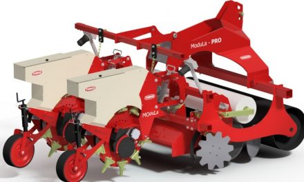 Modula-PRO seeder, machine control via user display