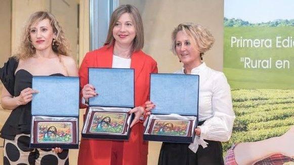 Gran éxito de los Premios «Rural en femenino» entregados en Granada
