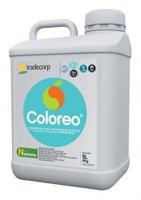 Coloreo un nutriente de Tradecorp