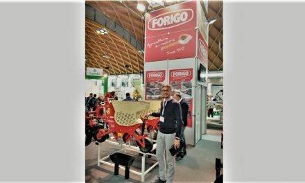 La sembradora de precisión y acolchadora MODULA en Macfrut 2019