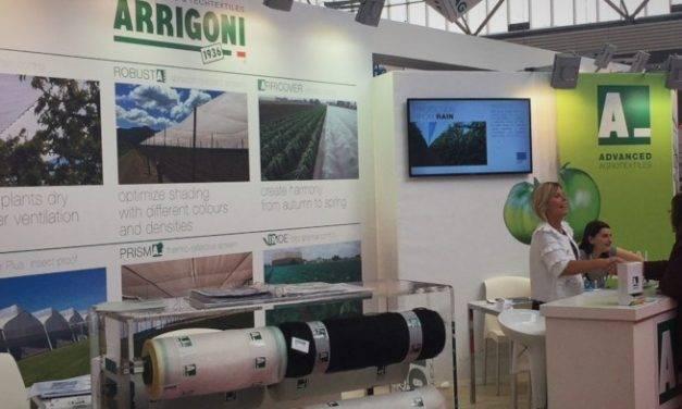 Agrotextiles Arrigoni en Greentech: alta tecnología con impacto cero