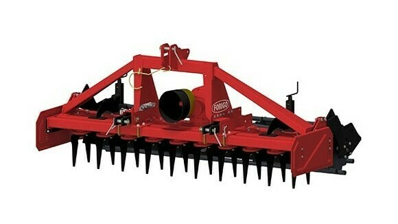 La nivelación de suelos para la siembra es la meta de F112