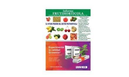 Información mensual sobre tecnología hortofrutícola y análisis comerciales