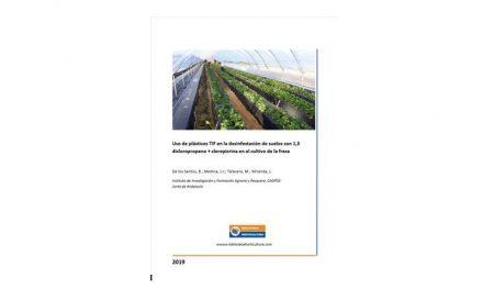 Plásticos TIF en la desinfestación de suelos con 1,3 dicloropropeno + cloropicrina en el cultivo de la fresa