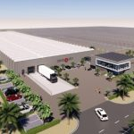 Large-scale 44 hectares greenhouse vegetable complex in Saudi Arabia
