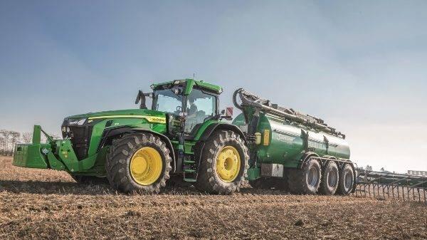John Deere presenta nuevos tractores de última generación