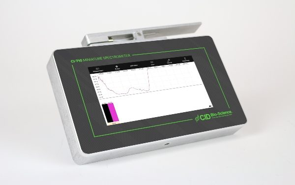 CID Bio-Science Updates Field Spectrometer to Measure Plant Physiology
