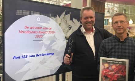 Beekenkamp Plants won the prize for the best novelty from the LTO