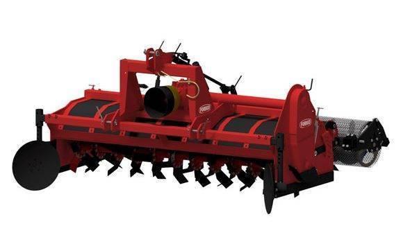 La enterradora G35 HC de Forigo garantiza lechos de excelente permeabilidad