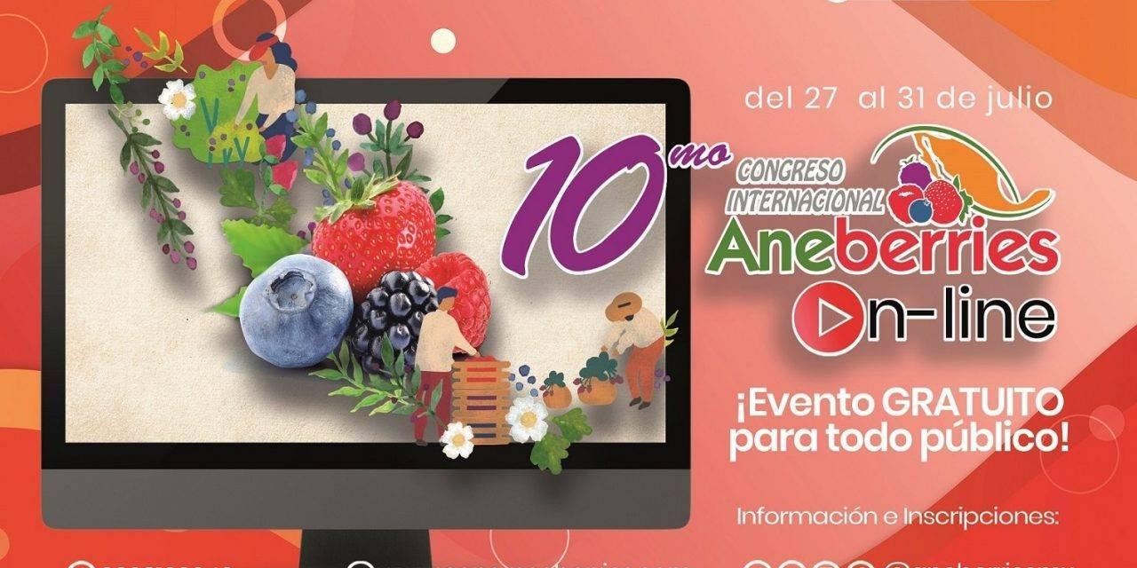 """El X Congreso Internacional de Aneberries """"On Line"""""""