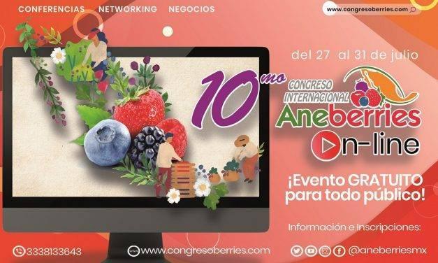 """Ya tiene fecha el X Congreso Internacional de Aneberries """"On Line"""""""