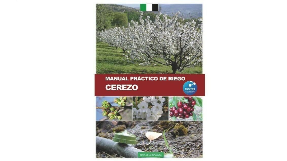 El manual de riego en cerezo, por CICYTEX
