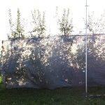 Anti-Deriva Grey® nuevos agrotextiles Arrigoni para el control de la deriva