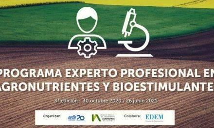 Curso de Gestión de Agronutrientes y Bioestimulantes