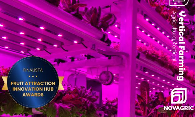 Los módulos de Cultivo Vertical de Novagric, finalistas a los Fruit Attraction Innovation Hub Awards