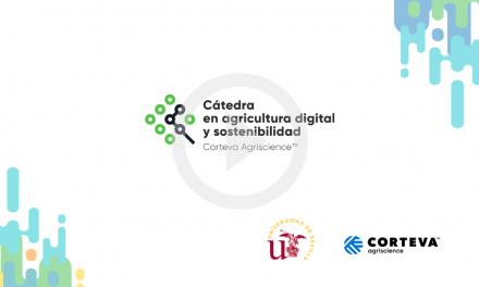 Premio a la mejor tesis en Agricultura Digital y Sostenibilidad otorgada por la cátedra de Corteva