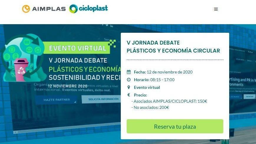 Jornada debate sobre los plásticos y la economía circular