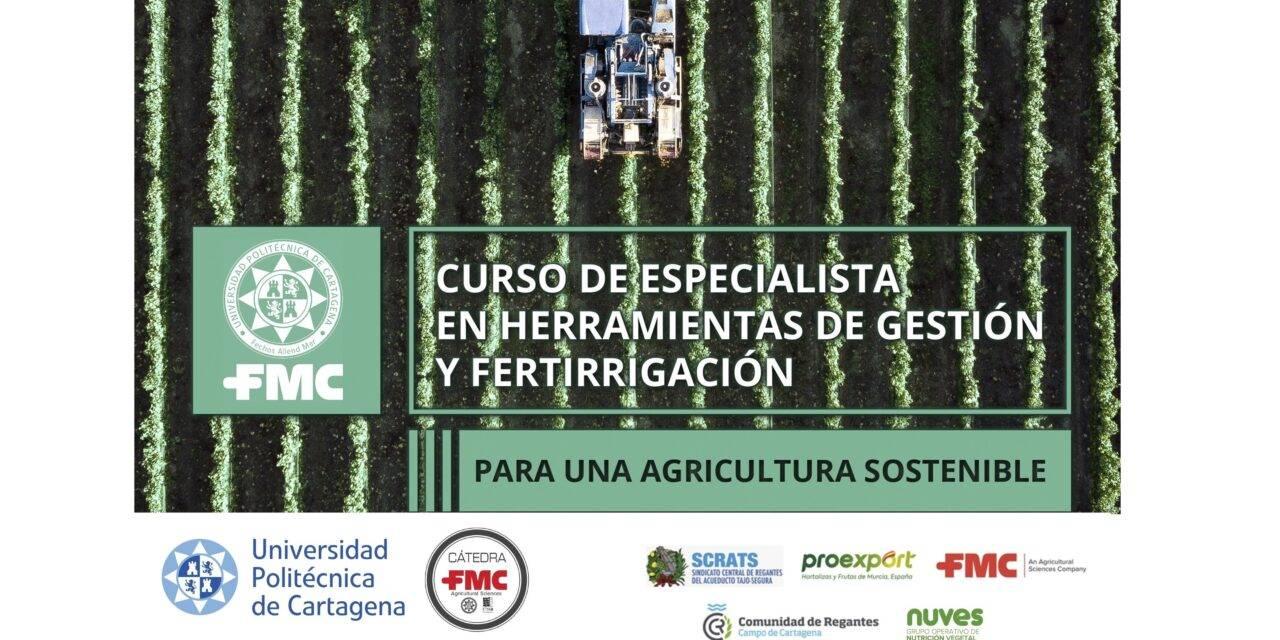 Fertirrigación sostenible: finaliza con éxito un nuevo curso promovido por la cátedra de FMC en la Universidad Politécnica de Cartagena