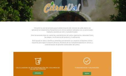 Citricultura: ya está disponible la nueva página web de CitrusVol