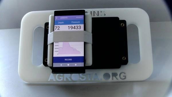 Agrosta Copains® Bluetooth Soil Penetrometer