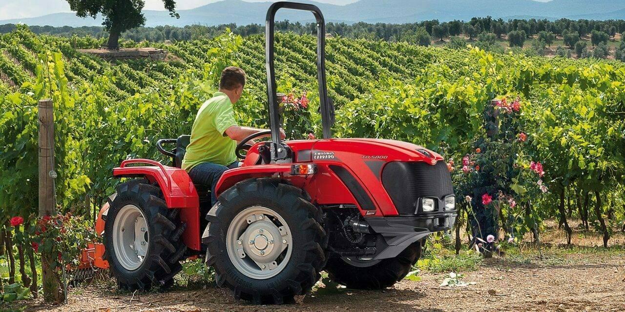 Equipo agrícola, mercado a ritmo récord en Italia
