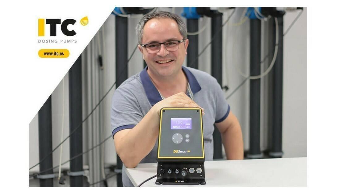 DOSmart AC, la nueva bomba dosificadora de ITC con bajo consumo