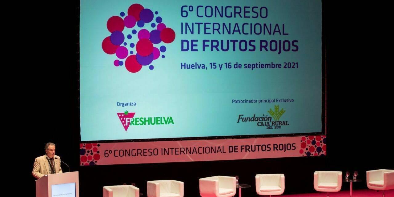El 6º Congreso Internacional de Frutos Rojos concluye con el reto común hacia la sostenibilidad