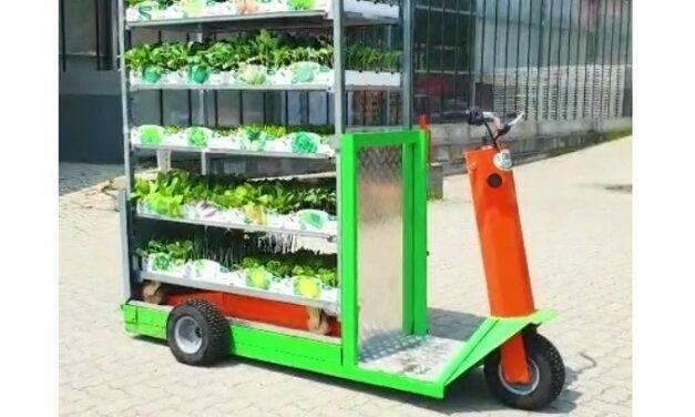 Speedy, el vehículo eléctrico para el transporte de carros de vivero